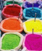 Beautiful contrasting dyes