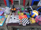New educational games and sporting equipment