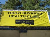 A new sign for the clinic